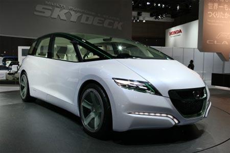 Honda Skydeck en exhibicion