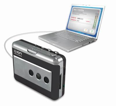 ION Tape Express convierte cassettes en MP3