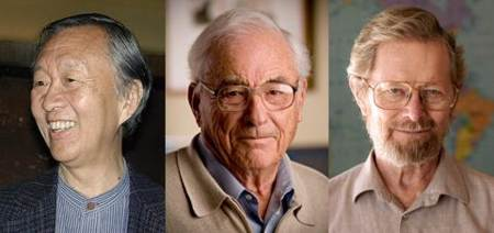Charles Kao, Williard Boyle y George E. Smith