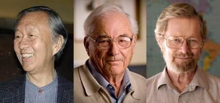 Charles Kao, Williard Boyle y George E. Smith