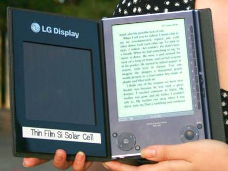 e-book Solar presentado por LG