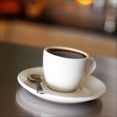 componentes quimicos de una taza de cafe