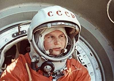 Valentina Tereshkova la primera mujer en viajar al espacio
