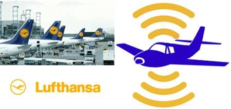 Lufthansa ofrece Flynet por medio de WiFi