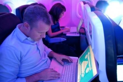 Wi-Fi en vuelos de Virgin America financiado por Google