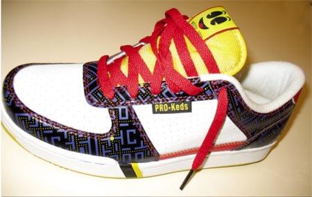 zapatillas deportivas estilo pacman