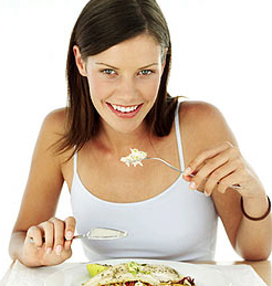 comer lento podria ayudar a bajar de peso
