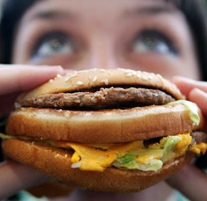 consumir gran cantida de comida chatarra produce depresión