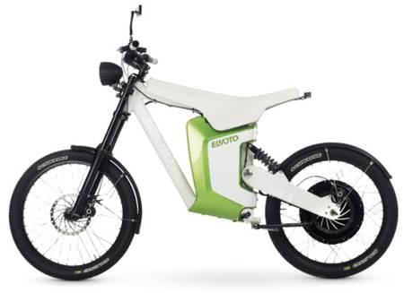 Bicicleta motorizada Elmoto HR-2, cuenta con motor eléctrico de 2KW