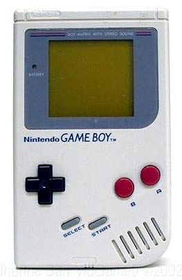 GameBoy entra al salon de la fama