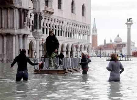satélite que predice inundaciones