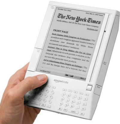 Kindle de Amazon super record de ventas en Noviembre