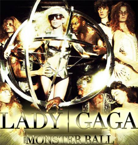 "Lady GaGa en su nuevo tour ""Monster Ball"""