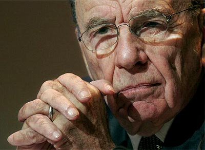 Rupert Murdoch en negociaciones