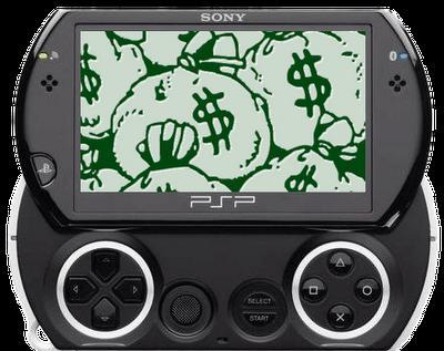ventas de la PSP Go de Sony, siguen bajas