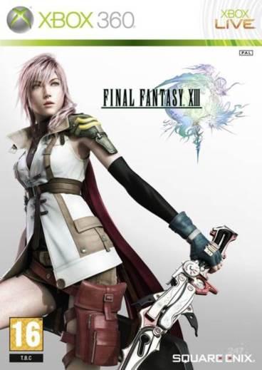Portada de Final Fantasy XIII para Xbox 360