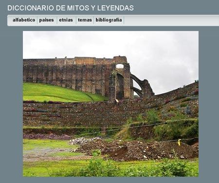 Diccionario online de mitos y leyendas latinoamericanas
