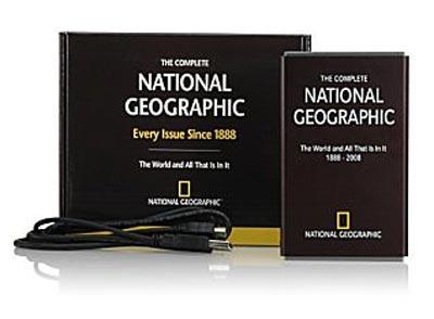 Disco duro con todas las ediciones de National Geographic