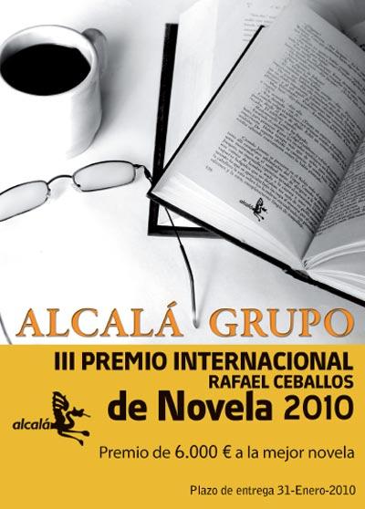 Participa en elIII Premio Internacional Rafael Ceballos de Novela 2010
