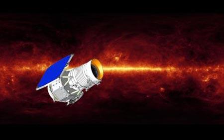 El Telescopio WISE en el espacio