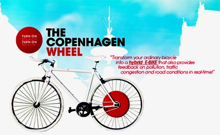 The Copenhagen Wheel la nueva e-bike