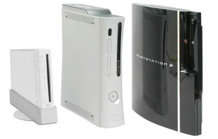 wii xbox ps3