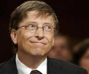 Bill Gate sonriente