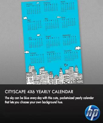 Calendario HP 2010 personalizado