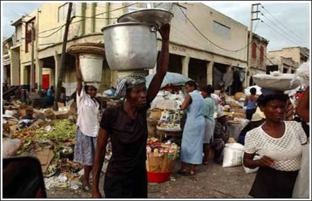 habitantes de haiti