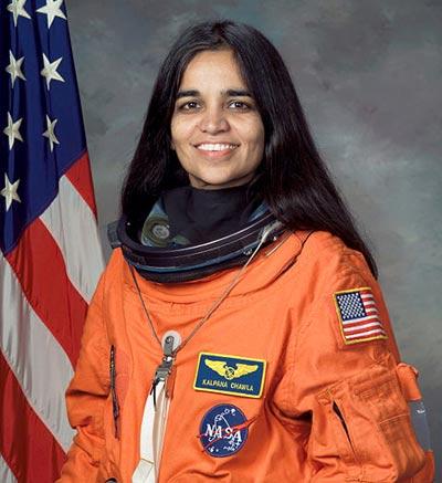 Kalpana Chawla mujer astronauta de la India