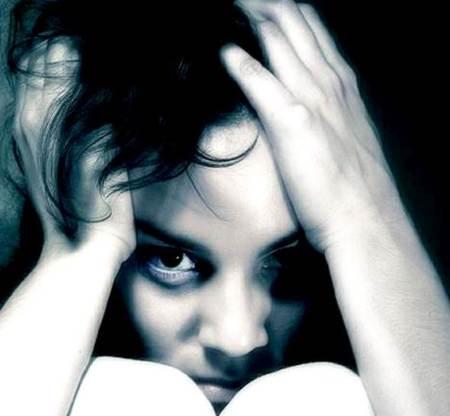 Mujer con psicosis