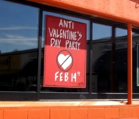 Lugar que no celebra San Valentin