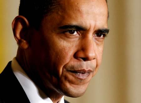 Presidente Obama enojado