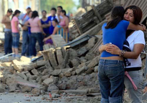 Chicas llorando por el terremoto en chile de 2010