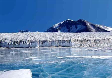 Paisaje de la Antartida