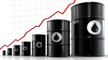 Barriles de petroleo a la alza