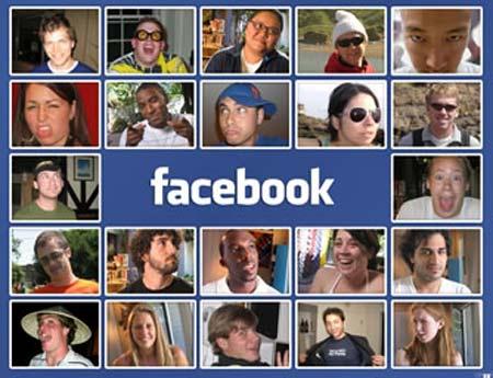 facebook collage con usuarios chicas y chicos