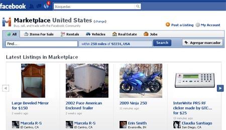 facebook marketplace, aplicacion comercial para ventas y compras