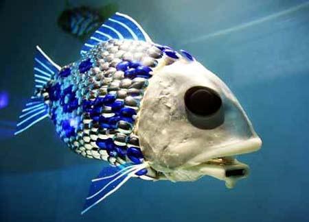 peces robot para explorar el oceano