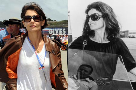 Katie Holmes Jackie Kennedy on Jacqueline Kennedy En Una Miniserie Katie Holmes Y Jackie Kennedy
