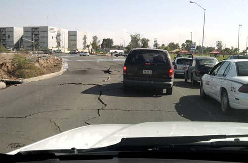 terremoto en mexicali de 7.3 grados