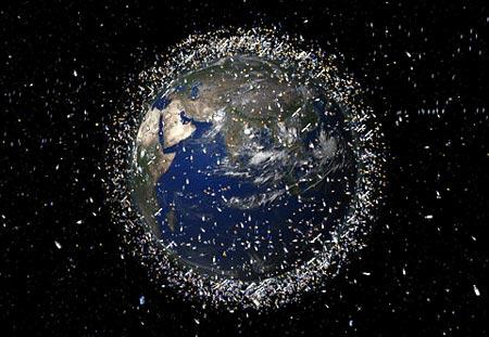 Basuara en el espacio
