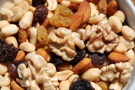 Diversidad de frutos secos