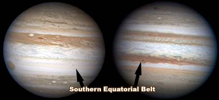 Jupiter esta perdiendo sus rayas