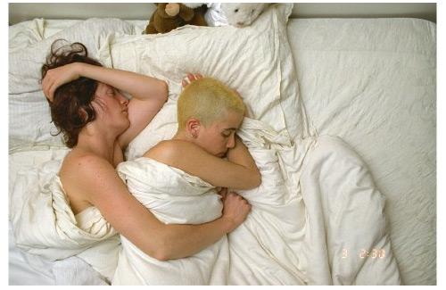 gente durmiendo