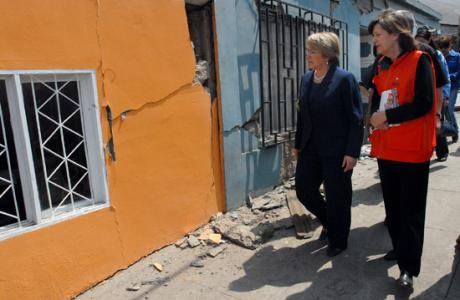 gente despues de terremoto