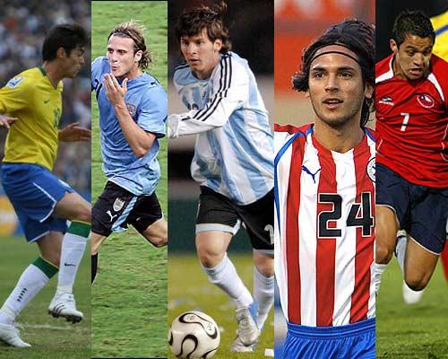 Las cinco selecciones sudamericanas clasifican a octavos de final en Sudáfrica 2010
