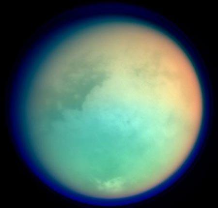 """""""Titan"""" una de las lunas de Saturno"""