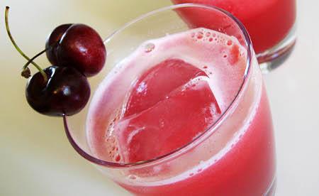 jugo de cereza
