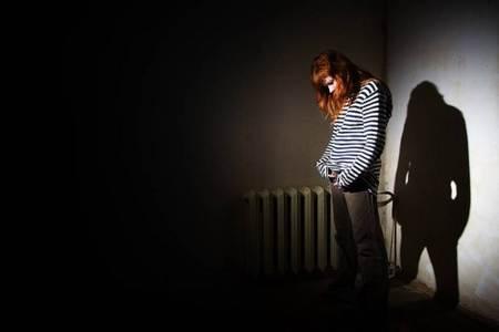 Mujer con depresion